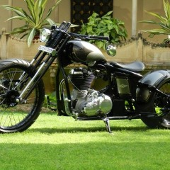 Pictures of Modified Royal Enfield