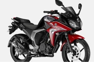 The Yamaha Fazer FI version 2.0 150 CC motorcycle.