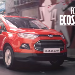 Ford Ecosport's #GetBusyLiving ad campaign