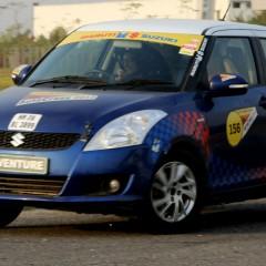Maruti Suzuki cars triumph in the Delhi-NCR edition of 13th Autocross