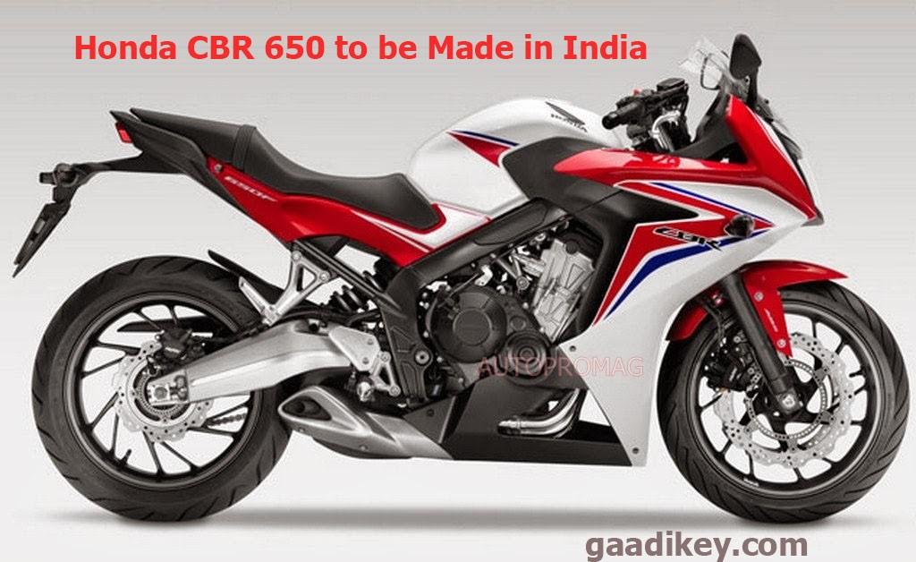 honda cbr 650 india
