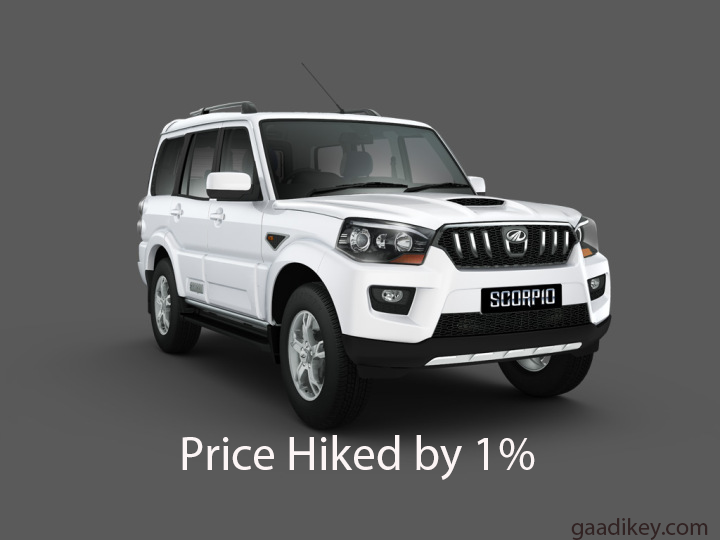 mahindra hikes prices