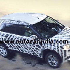 Maruti Suzuki Compact SUV Spotted on Indian roads