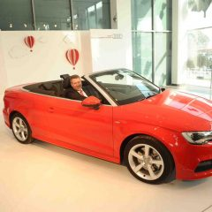 Audi unveils Audi A3 Cabriolet in India