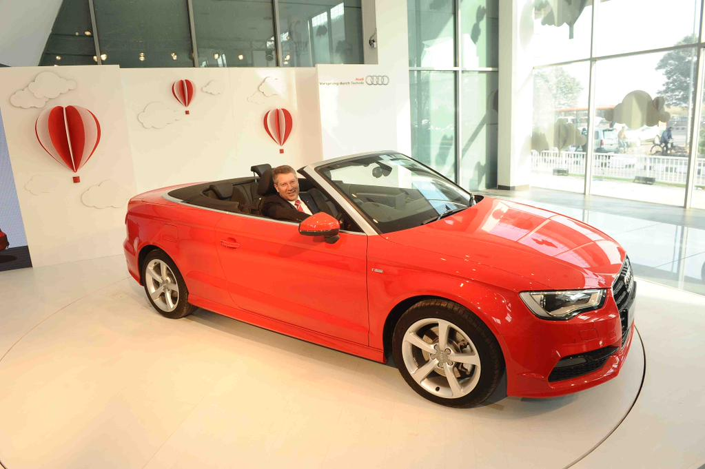 Audi A3 Cabriolet is now launched in India.