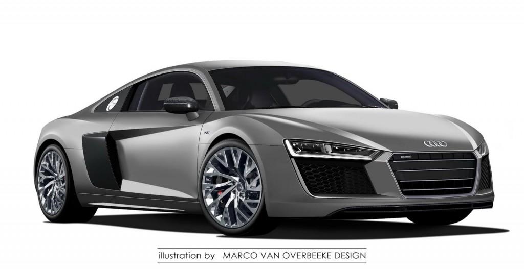 Audi R8 Rendering 1