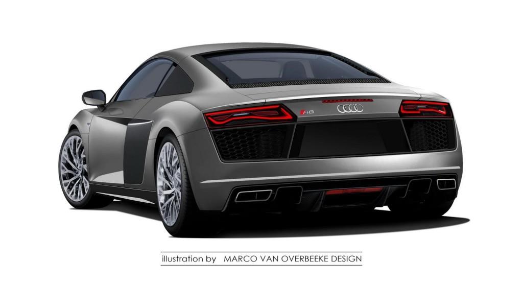 Audi R8 Rendering 2