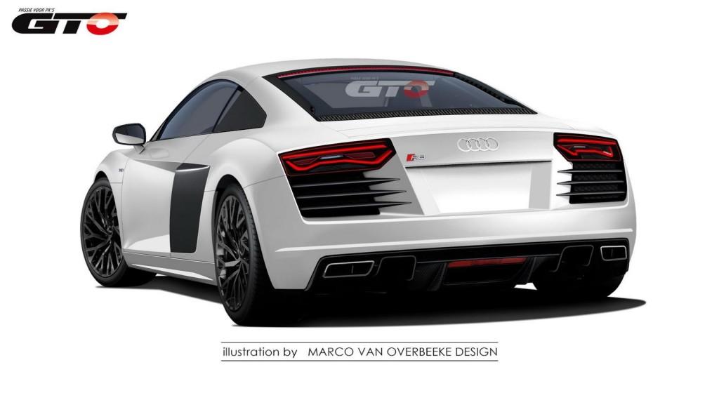 Audi R8 Rendering 4