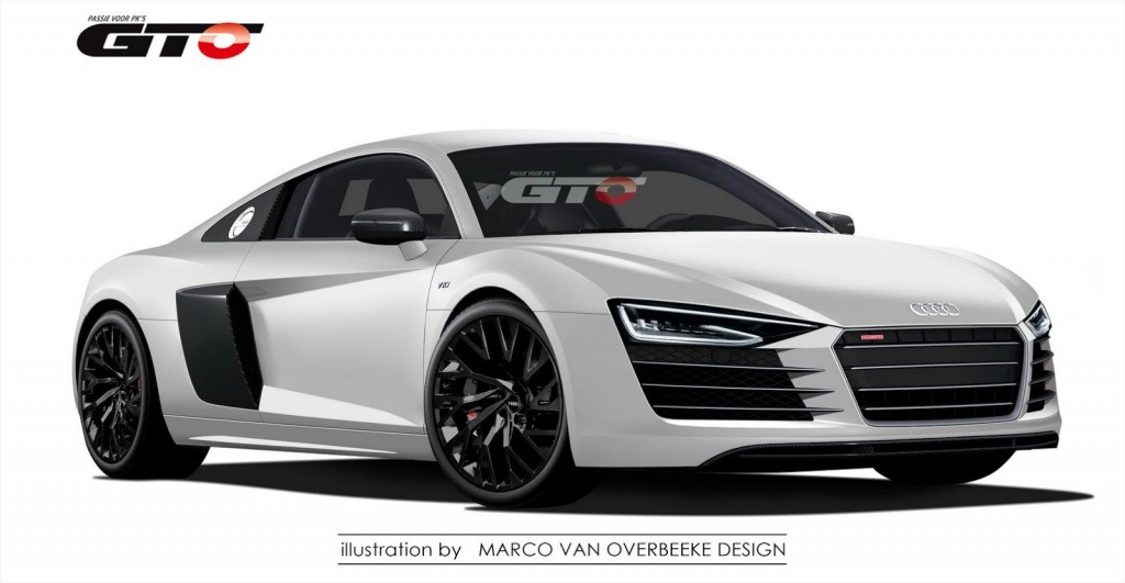 Audi R8 Rendering 5