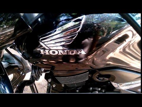 Honda unicorn closeup