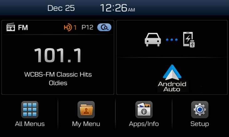 Hyundai new infotainment system 2015