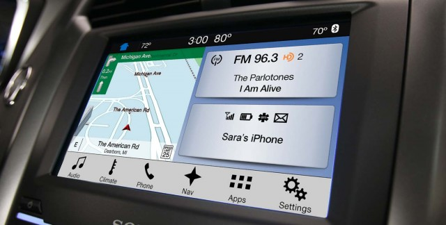 New ford Sync 3