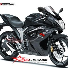 Fully Faired Suzuki Gixxer – Photo Render