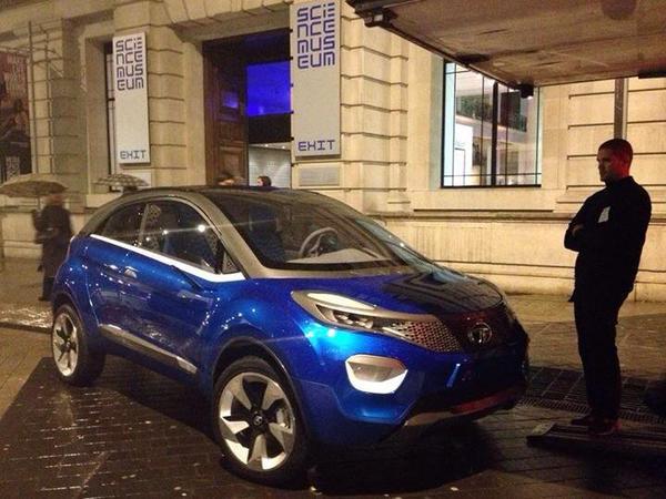 Tata Nexon seen in London