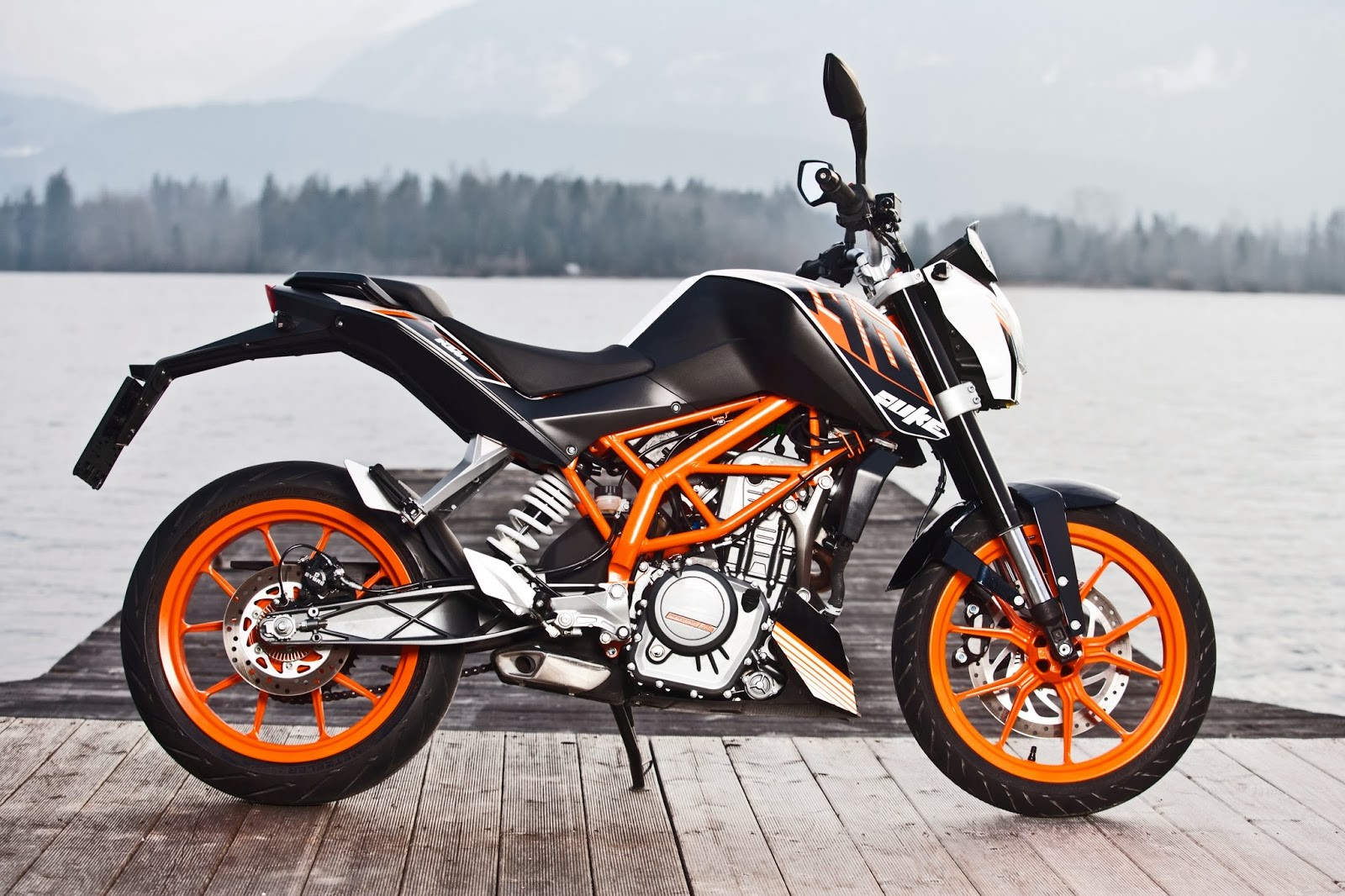 Ktm Duke Weight