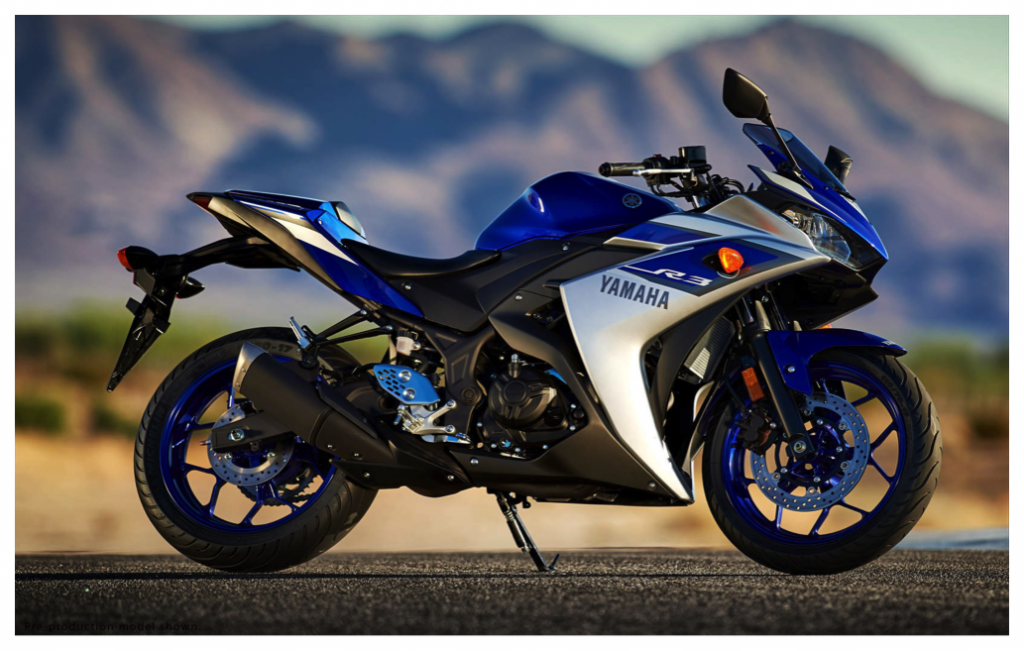 yamaha r3 bike