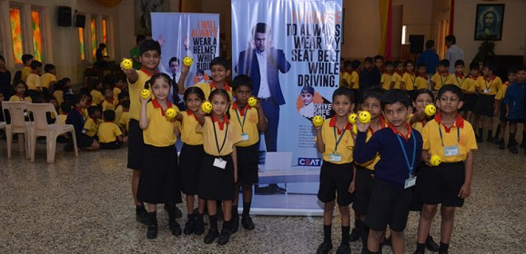 CEAT drives Road Safety Awareness through Kids