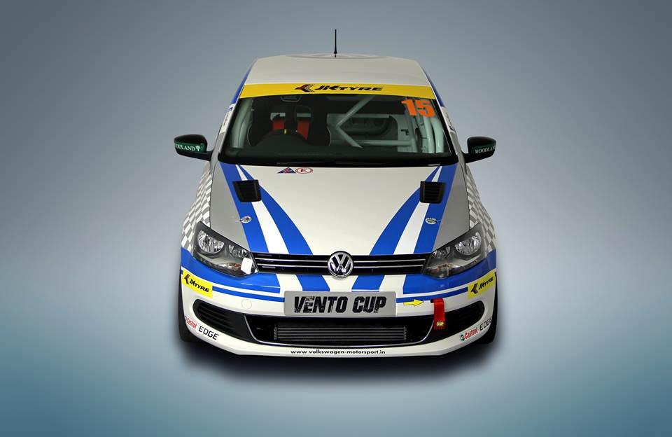 VW Vento Cup Car 1