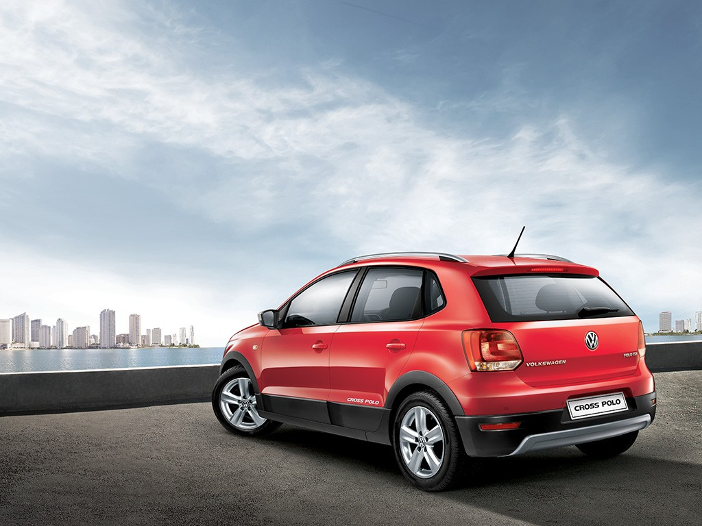 Volkswagen Cross Polo Back