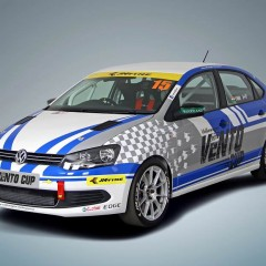 Volkswagen Vento Cup Car revealed in India