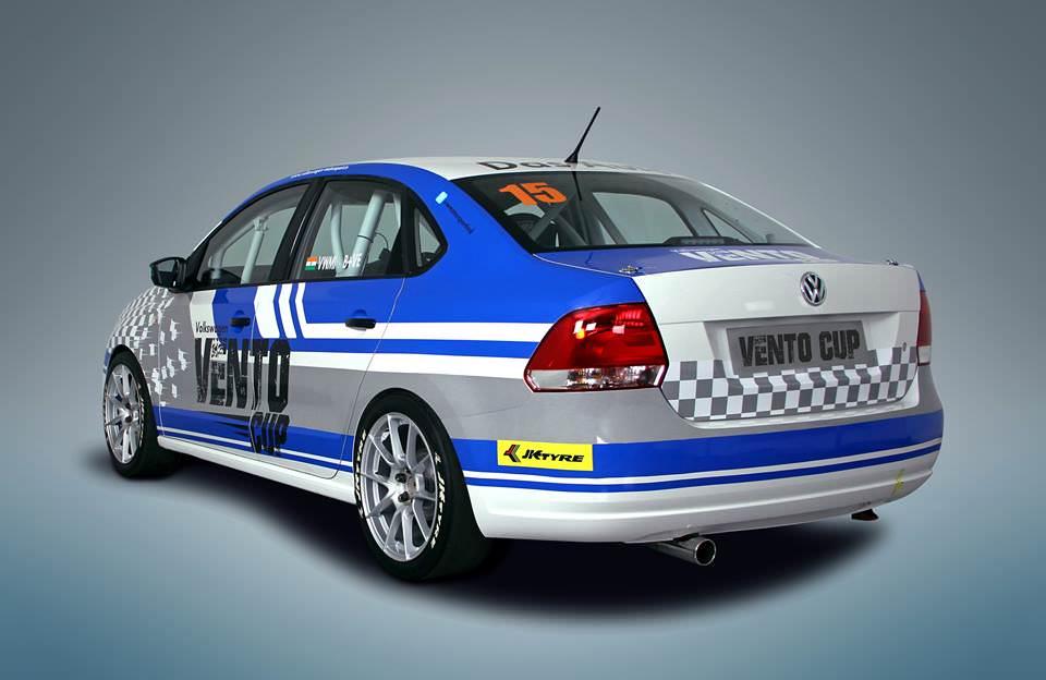 Volkswagen Vento Cup Car 2
