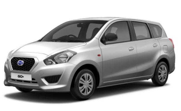 Datsun GO Plus Silver
