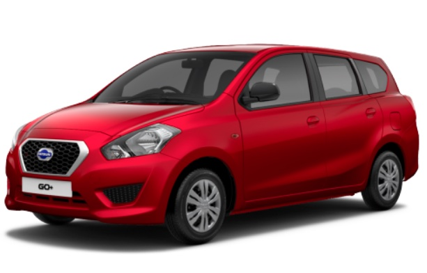Datsun Go Plus Ruby Red