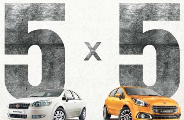 Fiat 5x5 offer