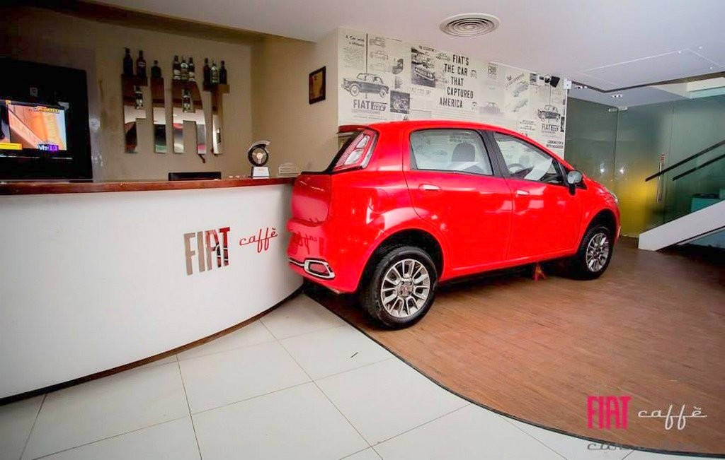 Fiat Caffe in Bangalore India