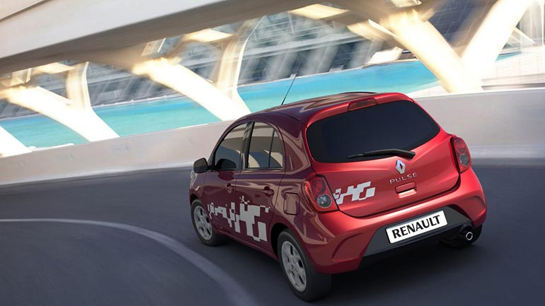 Refreshed Renault Pulse 2015 Red