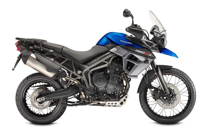 Triumph Tiger Blue