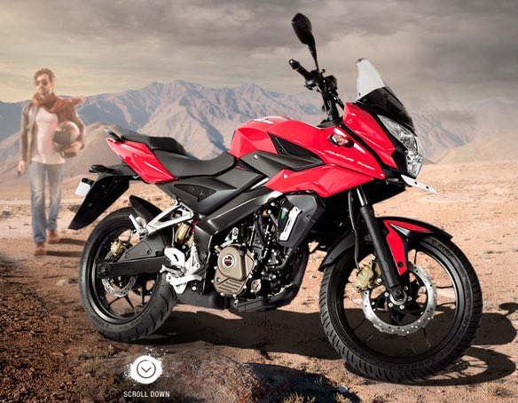 Bajaj Pulsar AS150 150cc Adventure Sport Bike