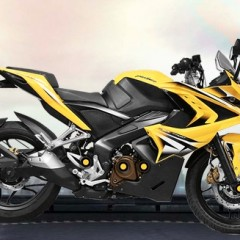 New Bajaj Pulsar RS200 Images, Design and Video