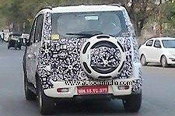 Mahindra New SUV 1