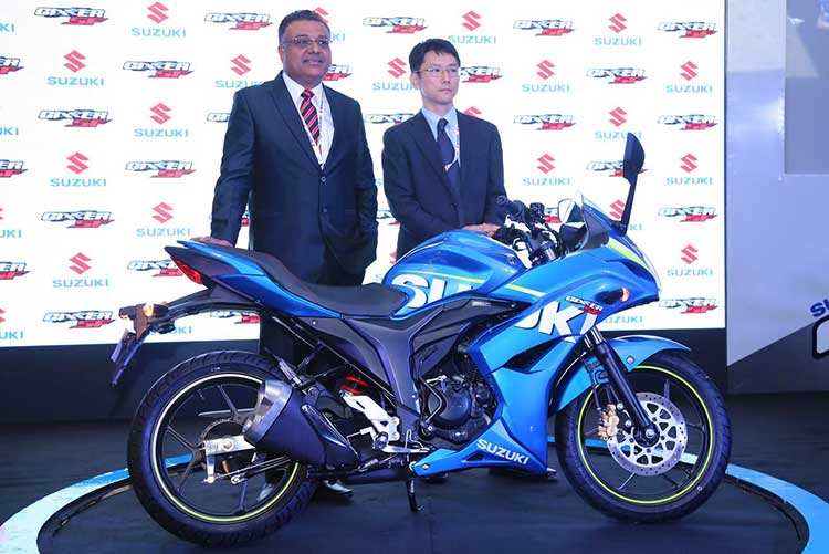 Suzuki-Gixxer-SF-Launch-event-increase-in-dealerships-across-India