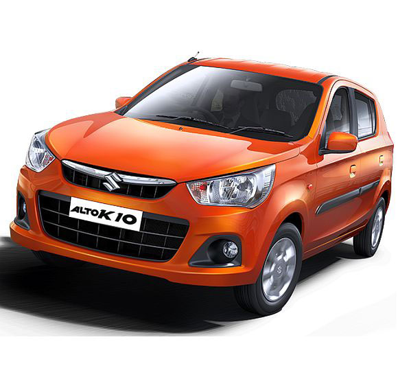 Affordable Automatic cars Maruti Suzuki Alto K10