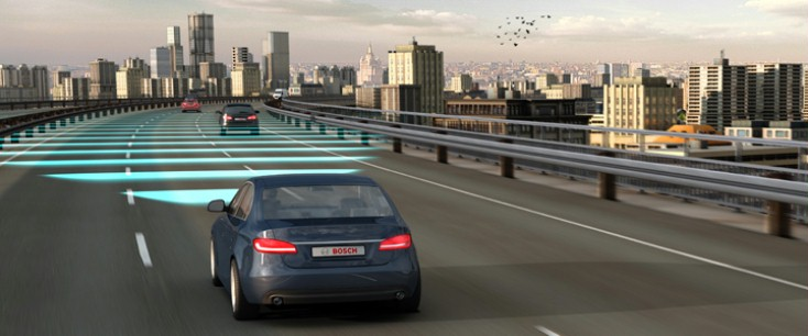 Driving Assistance System by BOSCH