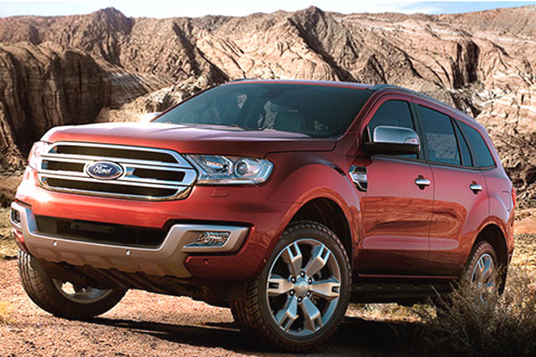 New Ford Endeavour August launch expected