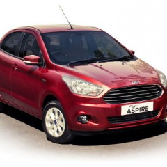 "Ford rebrands ""Figo Aspire"" sedan as just ""Aspire"""