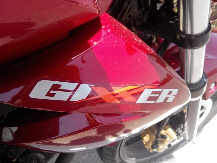 Gixxer-Logo-on-Bike