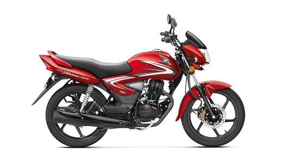 Honda CB Shine Imperial Red
