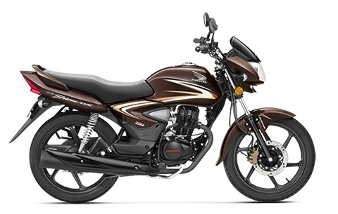Honda CB Shine Maple Brown