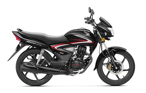 Honda CB Shine New Black