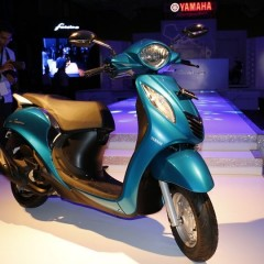 With Yamaha Fascino, Yamaha aims to sell 30,000 units per month