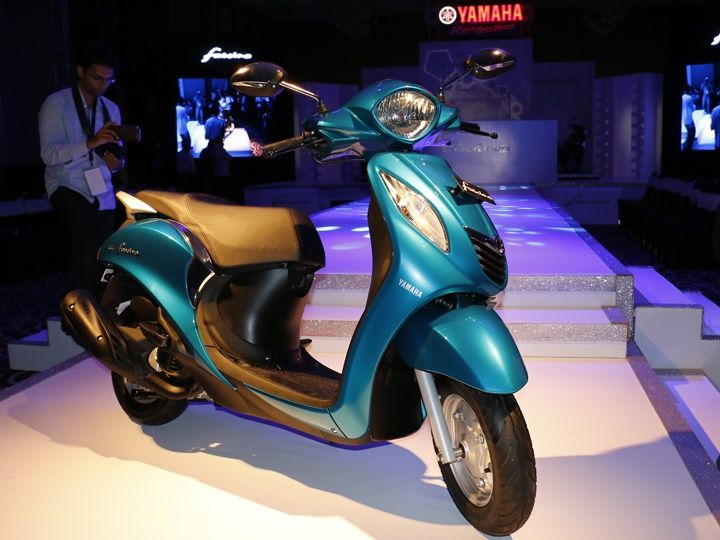 Yamaha Fascino India launch