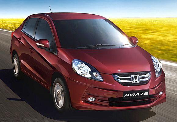 2015 Honda Amaze CVT Automatic