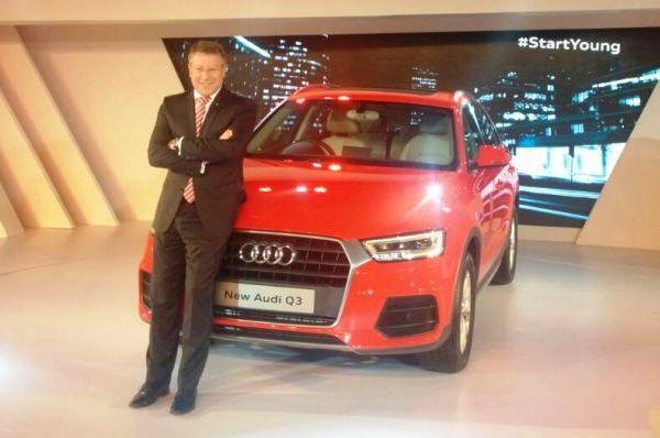 Audi Q3 Facelift India