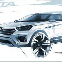 Hyundai Creta Design revealed [Exteriors and Interiors Photos]