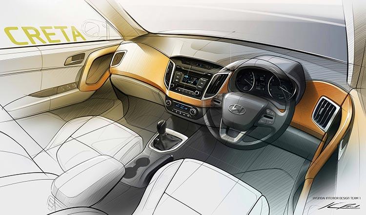 Hyundai Creta--Interiors