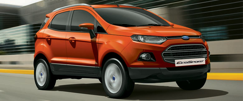 India made Ford EcoSport to be shipped to US